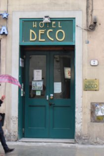Hotel Deco, Florence, Italy