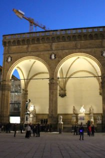 Loggia, Piazza della Signoria, Florence, Italy