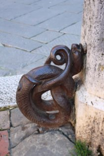 Iron snake, Florence, Italy